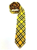 West Virginia University Tartan Silk Tie X-Long