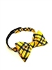 West Virginia University Tartan Silk  Bow Tie