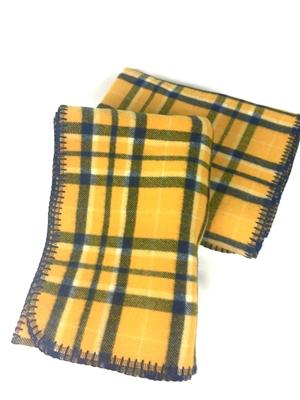 West Virginia University Tartan Stadium Blanket