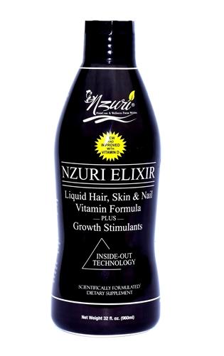 Nzuri elixir hair liquid vitamin, Goes straight to work unlike ...