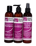 Nzuri Moisturizing Conditioner and Vitamin enriched shampoo