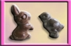 Small Solid Chocolate Combo Box - animals (asst. 4 pcs)