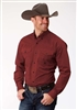 Men's Long Sleeve Button Down Autumn Sunset