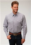 Men's Amarillo Long Sleeve Shirt Woven Stone