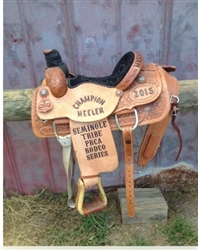 PRCA Rodeo Series Champion Heeler Saddle