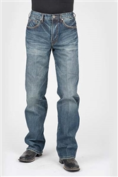 Stetson Men's Jean Back Contrast Pocket Stitching