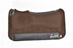 team equine saddle pads horses team roping barrel racing fit therapeutic withers fit comfort fleece wool