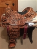 2016 Clay Tryan George Strait Team Roping Champion Saddle