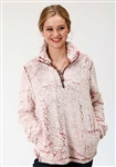 Wine Fleece Pullover