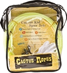CACTUS KIDS SPUR/ROPE GIFT SET