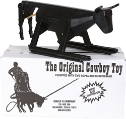 THE ORIGINAL COWBOY TOY - TEAM ROPING