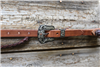 headstall buckle silver rough out cowboy