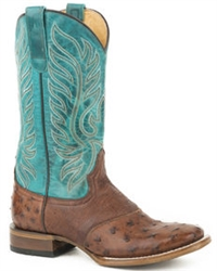 Women's Roper Full Quill Ostrich Boot