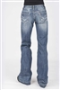 Women's Stetson Distressed Trouser Fit