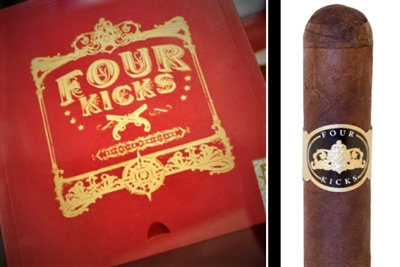 4 Kicks Maduro Robusto Extra (24/Box)