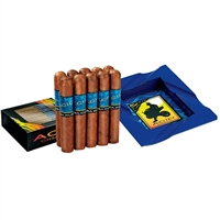 Acid Kuba Kuba - 5 x 54 - 10 Cigar Sampler with Acid Branded Ash Tray