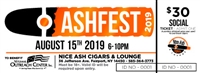 Social Ash Fest Ticket - Includes Pig Roast and Water/Soda