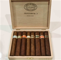 Curivari Coleccion #2 Robusto Sampler (Includes a Epitome, Virtudes, Gran Reserva, Grand Cru, Anniversario 1997, Vintage, Sun Grown, and Sun Grown Maduro)