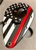 Xikar Xi1 Flag Red Double Blade Cutter With Black Blades