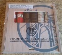 Drew Traditional Toro Sampler (2 Each: Herrera Esteli, Undercrown, and Undercrown Connecticut Shade) Various Sizes