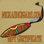NICEASHCIGARS.COM Gift Certificate!
