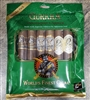 Gurkha 6 Pack Toro Sampler in Freshness Bag (Includes 1 Each - Royal Challenger Natural, Royal Challenger Maduro, Cask Blend, Cellar Reserve 12 Year, Classic Havana, and Xtreme)
