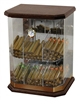 Franklin Wood 150 Count Acrylic Display Humidor