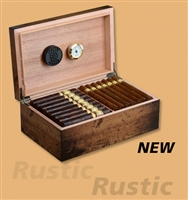 Craftsman's Bench Rustic 90 Count Humidor (13 1/2 x 8 1/2 x 5)