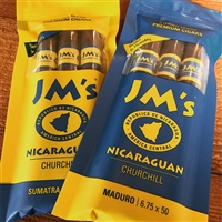 JM Dominican Maduro Churchill Freshness Pack (3 Pack)
