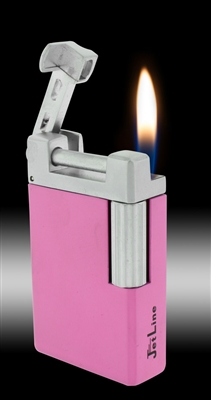 Jet Line Opal Soft Flame Pink Lighter