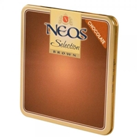 Neos Brown - Chocolate (10 Tins of 10)