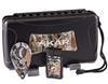 Xikar Camo Gift Set (Includes a 5 Count Travel Humidor, Xi2 Camo Cutter, and a Linea Single Flame Camo Lighter)