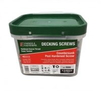 Decking Screw - Green Treated - Tub