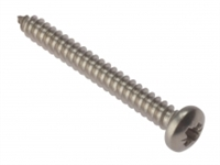 Self Tapping Screw - Pan Head - A2 Stainless Steel - Box