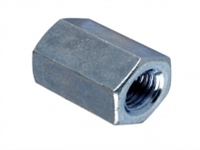 Connector Nuts - Zinc Plated - Bag