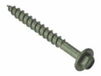 Timber Fixing Screw - Green Treated - Bag