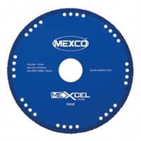 MEXCO Metal Cut Diamond Blade MEXCEL