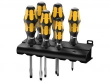 Wera 932/918/6 Kraftform Plus Screwdriver Set - Series 900 - PZ/SL