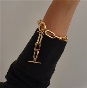 Chain Bracelet (Gold/Silver) (will ship within 1~2 weeks later)