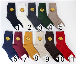 Best Seller!!! Smile Socks (1~11) (will ship within 1~2 weeks later)