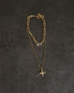 Loui Necklace (Gold/Silver) (will ship within 1~2 weeks later)