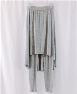 (Event; Final Sale) Gray Skirt Leggings 114