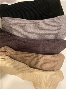 (5Colors Set Special Price) Wool Cashmere Leggings (Oatmeal/Beige/GrayBrown/Gray/Black) (will ship within 1~2 weeks)
