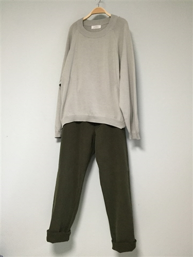 Kimo Cotton Pants (Black(L))