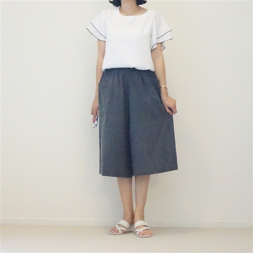 (2nd Reorder) Linen Pocket Pants (M)