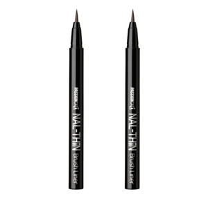 (1+1) [PASSIONCAT] NAL-THIN Brush Liner (1:Black/2:Brown)