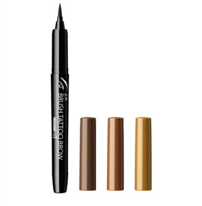 (1+1) [PASSIONCAT] 2X Brush Tattoo Brow (No.1 Dark Brown / No.2 Natural Brown / No.3 Light Brown)