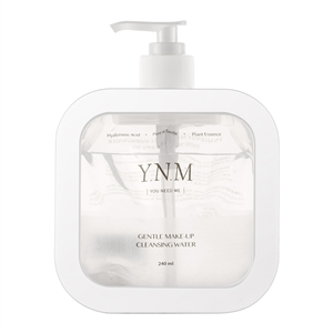 YNM GENTLE MAKE-UP CLEANSING WATER