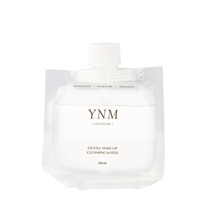 YNM GENTLE MAKE-UP CLEANSING WATER REFILL 240ML