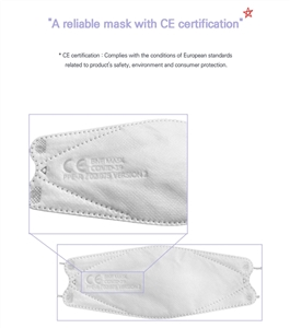 BNF Mask Quasi-Drug approved by MFDS (CE Certificate, FDA Registered) (20pcs)